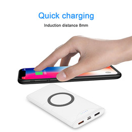 10000mAh Fast Wireless Power Bank