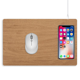 Qi Fast Wireless Charging Mouse Pad