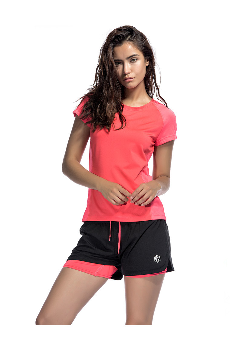 Dry Fit Sports Gym T Shirt  womens running tops