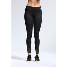 Wholesale fitness pants gold print