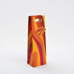 China Factory Customize Wine Packaging Paper Bag