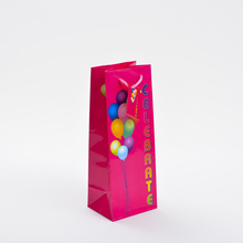 Color pinted Wine Packaing Paper Bag