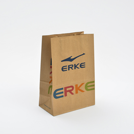 Customize brand brown kraft paper bag