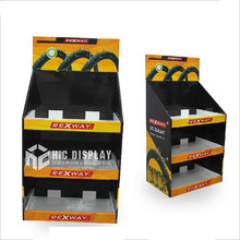 China supplier wholesale car audio paper display stand cardboard display stands