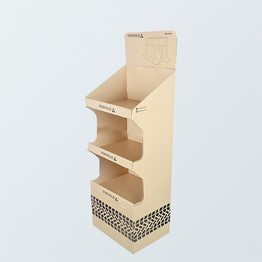 Wholesale cardboard book folding display stand brochure display stand