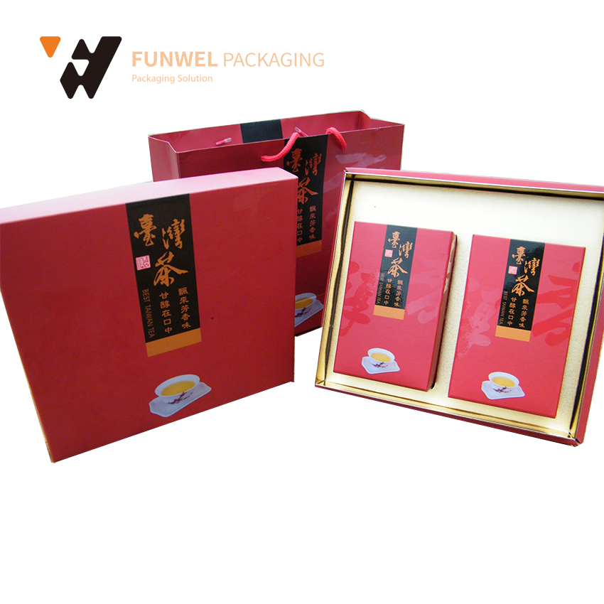 2017 popular high quality chinese tea gift box tea gift box paper tea box beautiful gift boxes