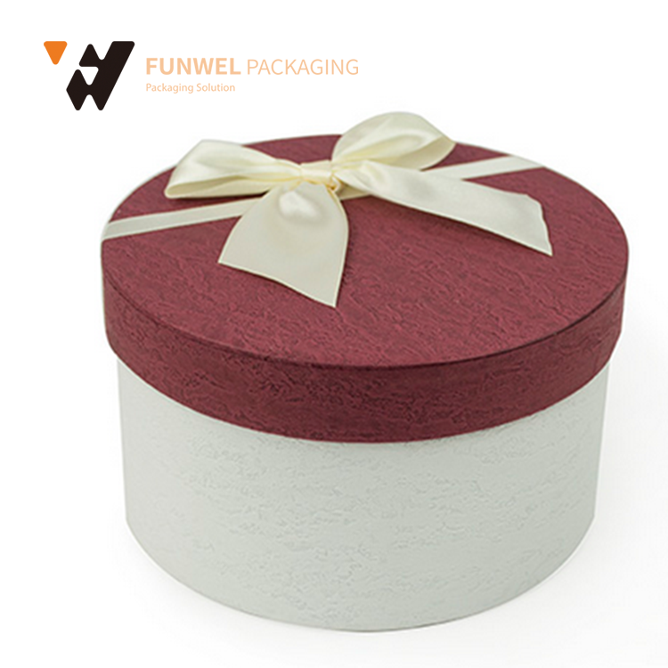 2017 popular high quality chinese tea gift box tea gift box paper roundness tea box beautiful gift boxes