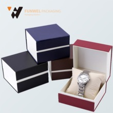 China supplier customized paper watch box custom printed, watch paper box beautiful gift boxes