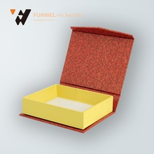 China supplier wholesale rigid gift paper mache boxes with Lid beautiful gift boxes