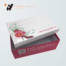 Paper flower box packaging paper with your own printing beautiful gift boxes