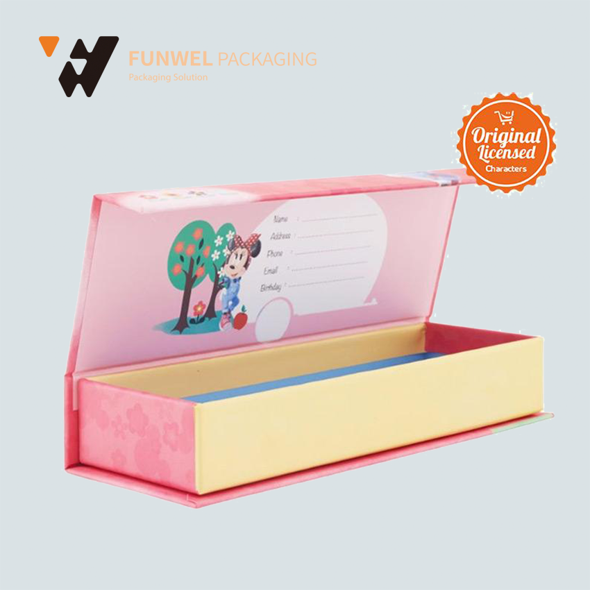 custome paper pencil box, pencil box paper packaging beautiful gift boxes