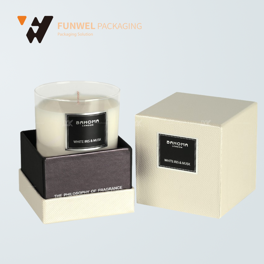 high-Quality rigid candle paper gift box packaging manufacturers beautiful gift boxes