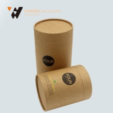 high quality costome hard paper tube box designs beautiful gift boxes
