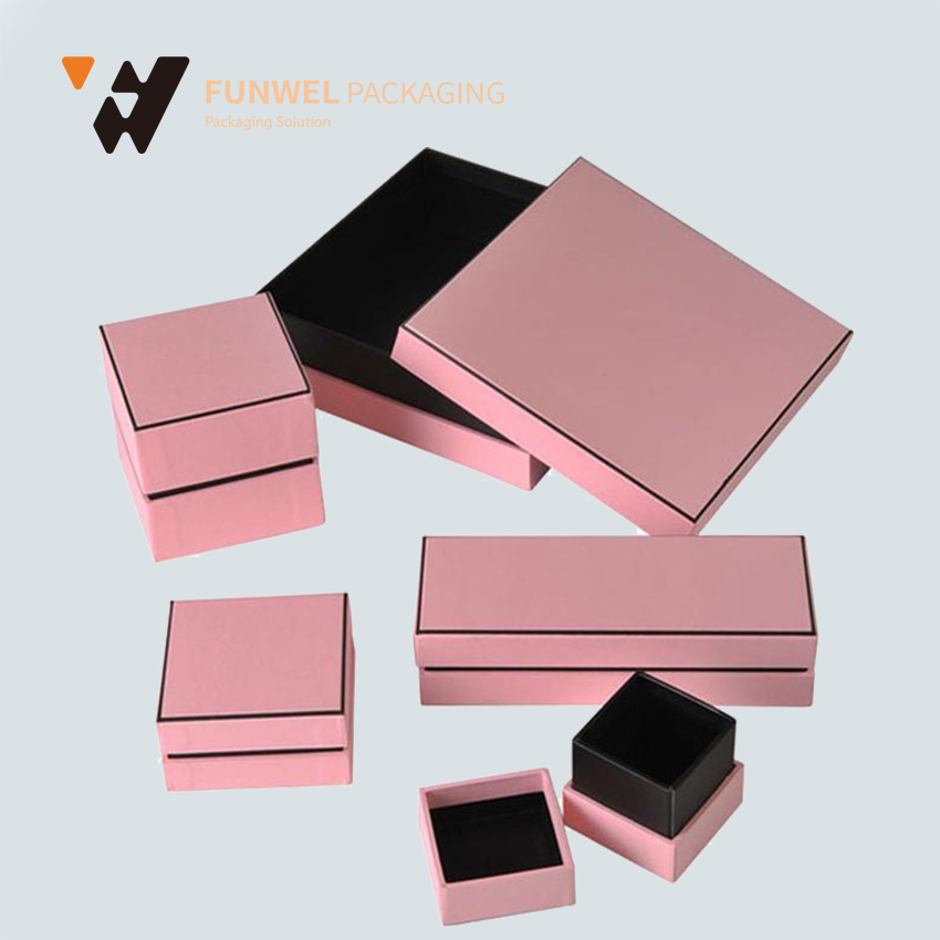 high quality paper cardboard ring storage box beautiful gift boxes