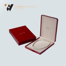 China fancy custom pearl necklace packaging box manufacturers
