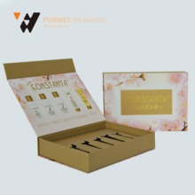 China supplier high quality color cosmetic paper gift packaging box