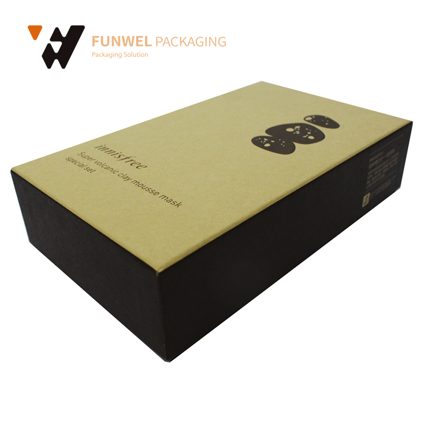 Luxury cosmetic box design packaging box facial mask packaging