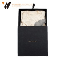 Luxury garment packaging paper box clothes packaging china box