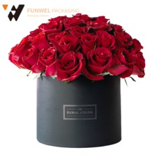 Round Box for flowers packaging