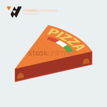 Color printed Pizza Box