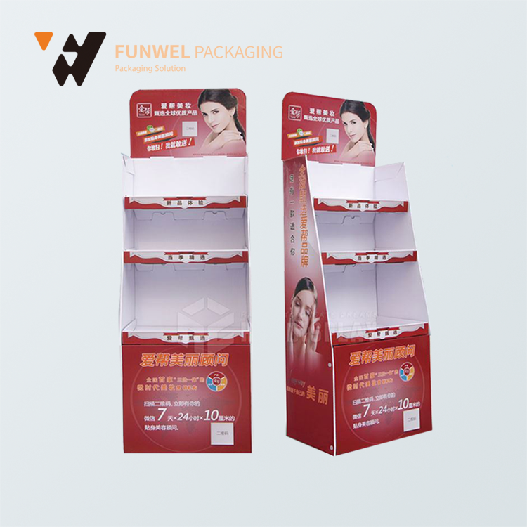Show products paper dispay stand