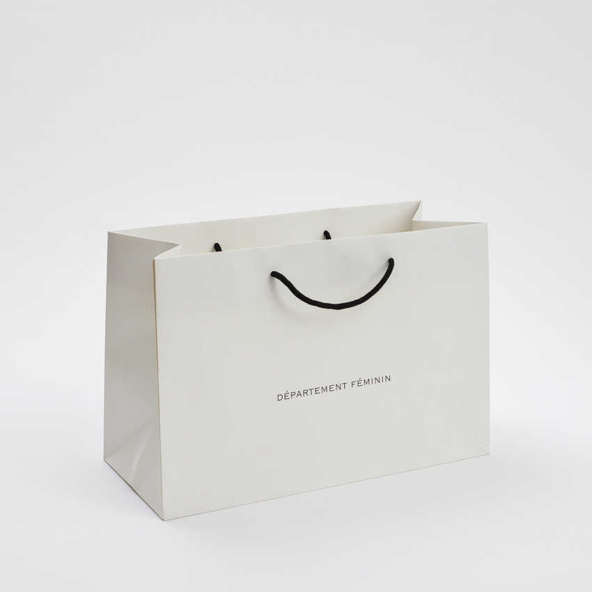 White Luxury Paper Gift Bags