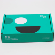 Rigid innovative design custom printing corrugated paper packaging box retail packaging