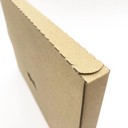 Eco friendly Custom Mailer Box with Tear Line Corrugated Box Paper File Folder