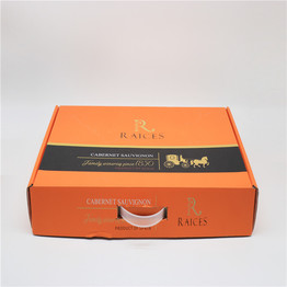 Custom design strong cardboard packaging box, gift box with handle