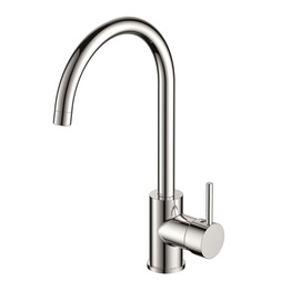H0040171105 Chrome 1-Handle Deck Mount   kitchen faucet brass