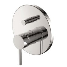 H00402711091 Chrome Single Lever Wall-mounted Shower Valve Mixer with Diverter bathroom faucets