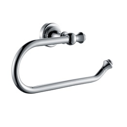 H003048340CP Chrome Towel Ring, Wall Mounted, Solid Brass bathroom accessories