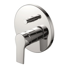 H00402704091 Chrome Single Lever Wall-mounted Shower Valve Mixer with Diverter bathroom faucets
