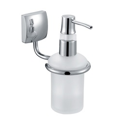H003046603CP Chrome Soap and Lotion Dispenser, Wall Mounted, Solid Brass bathroom accessories