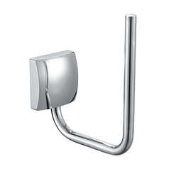 H003046650BCP Chrome Single Post Paper Holder, Wall Mounted, Solid Brass bathroom accessories