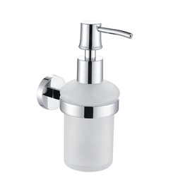 H003046903CP Chrome Soap and Lotion Dispenser, Wall Mounted, Solid Brass bathroom accessories