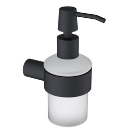 H003043703BA Matte Black Soap and Lotion Dispenser  bathroom accessories