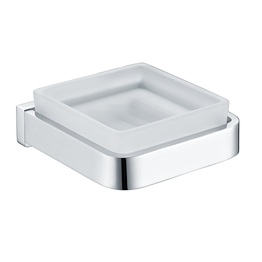 H003043260CP Chrome Square Soap Dish Holder bathroom accessories