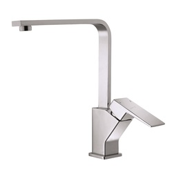 H0040180045 Chrome 1-handle Deck Mount Kitchen Faucet bathroom faucets kitchen faucets
