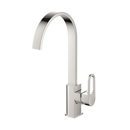 H0040180405 Chrome 1-handle Deck Mount kitchen faucets
