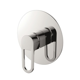H0040280409 Chrome Single Lever Wall-mounted Shower Valve Mixer without Diverter bathroom faucets
