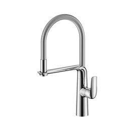 H00401837053 Chrome 1-handle Deck Mount  kitchen faucets