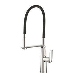 H00401837054 Chrome 1-handle Deck Mount kitchen faucets