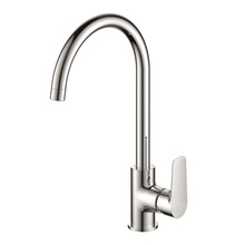 H0040187705 Chrome 1-handle Deck Mount Valve kitchen faucets