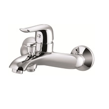 H0040283703 Chrome Single Lever Bath Shower Mixer with Diverter bathroom faucets