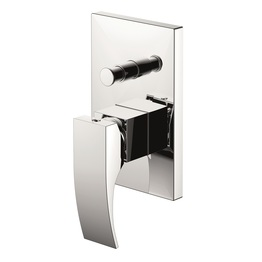 H00402838091 Chrome Single Lever Wall-mounted Shower Valve Mixer with Diverter bathroom faucets