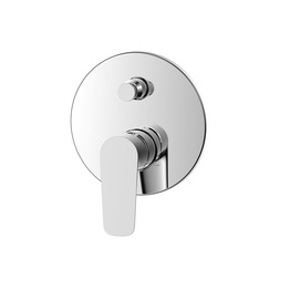 H00402877091 Chrome Single Lever Wall-mounted Shower Valve Mixer with Diverter bathroom faucets