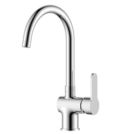 H00401707052 Chrome 1-handle Deck Mount kitchen faucets