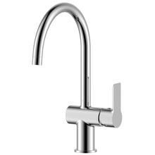 H00401844054 Chrome 1-handle Deck Mount  kitchen faucets