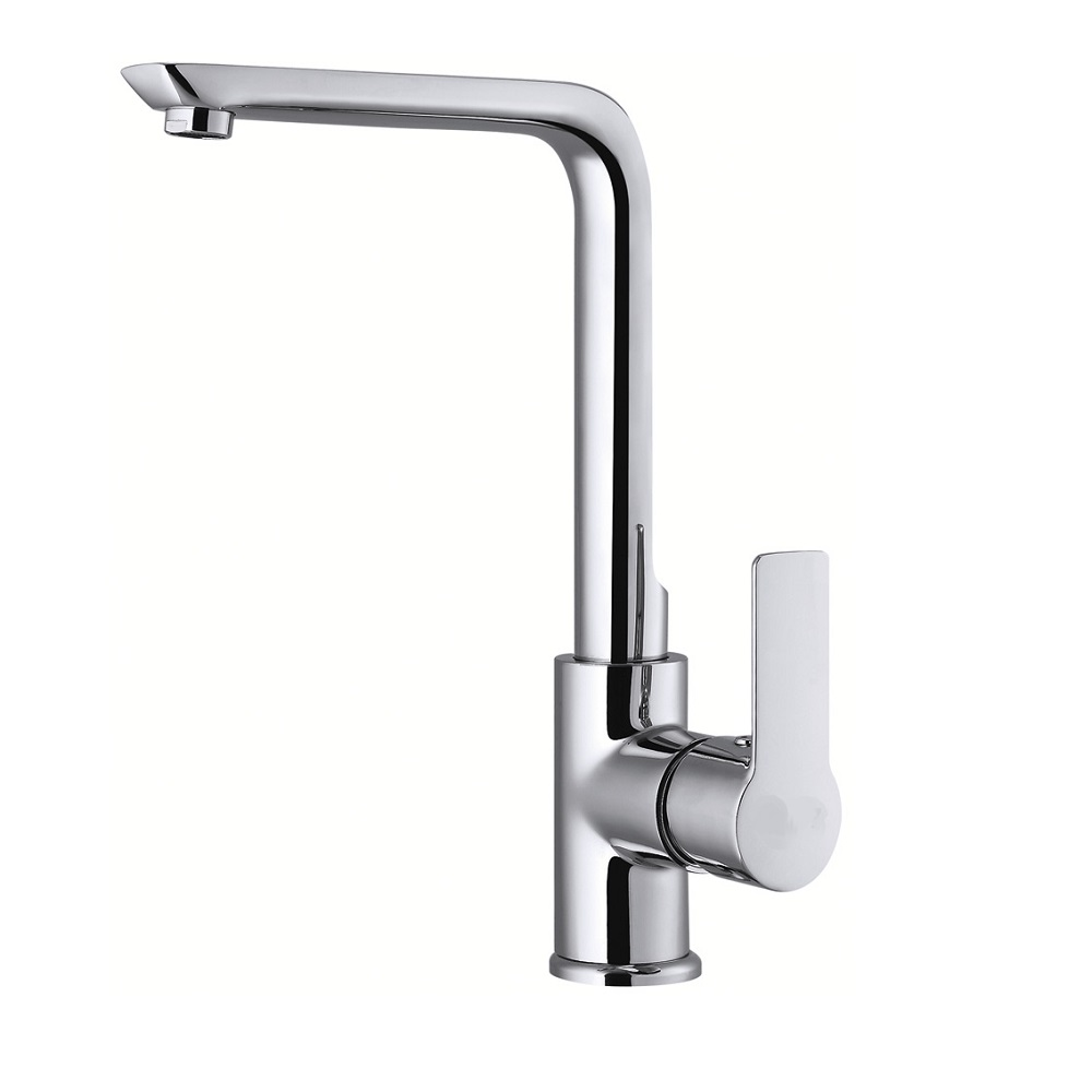 H0040184405 Chrome 1-handle Deck Mount kitchen faucets